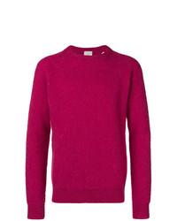 Jersey con cuello circular rosa de Eleventy