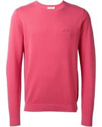 Jersey con cuello circular rosa de Sun 68