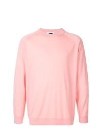 Jersey con cuello circular rosado de H Beauty&Youth
