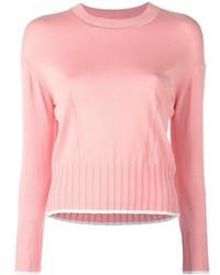 Jersey con cuello circular rosado de Kenzo