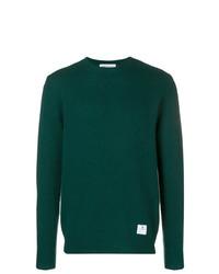 Jersey con cuello circular verde oscuro de Department 5