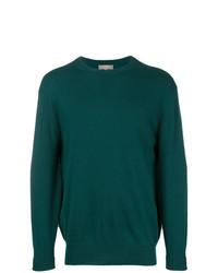 Jersey con cuello circular verde oscuro de N.Peal