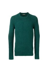 Jersey con cuello circular verde de Nuur