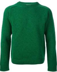 Jersey con cuello circular verde de Valentino