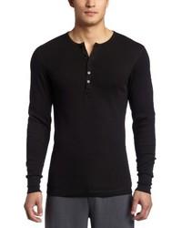 Jersey con cuello henley blanco de 2(X)IST