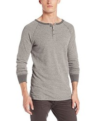 Jersey con cuello henley blanco de Threads 4 Thought