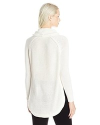 Jersey con cuello vuelto holgado blanco de RD Style