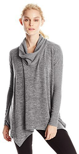 Jersey con cuello vuelto holgado gris de Mod-o-doc