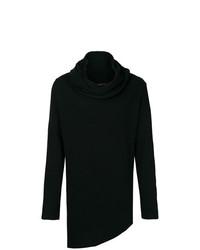 Jersey con cuello vuelto holgado negro de Alchemy