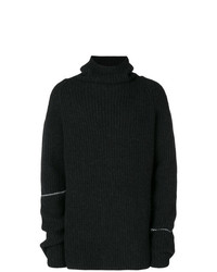 Jersey con cuello vuelto holgado negro de Lost & Found Rooms
