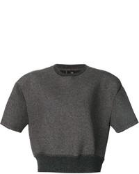 Jersey corto en gris oscuro de Neil Barrett