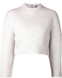 Jersey corto gris de Proenza Schouler