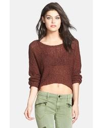 Jersey corto marrón