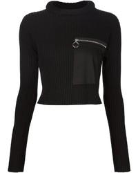 Jersey corto negro de MM6 MAISON MARGIELA