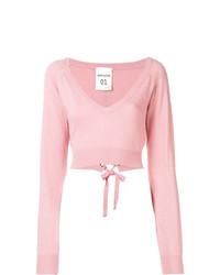 Jersey corto rosado de Semicouture