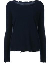 Jersey de cachemir azul marino de RtA