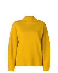 Jersey de cuello alto amarillo de Aspesi