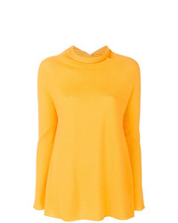 Jersey de cuello alto amarillo de Lamberto Losani