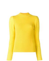 Jersey de cuello alto amarillo de See by Chloe