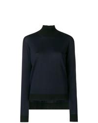 Jersey de cuello alto azul marino de Golden Goose Deluxe Brand