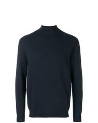 Jersey de cuello alto azul marino de N.Peal
