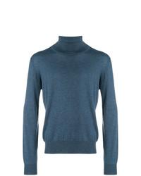 Jersey de Cuello Alto Azul de Maison Margiela