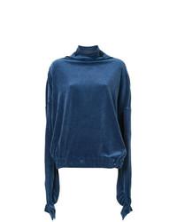 Jersey de Cuello Alto Azul de Paula Knorr