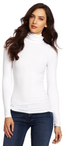 Jersey de cuello alto blanco de Three Dots