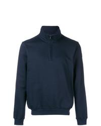 Jersey de cuello alto con cremallera azul marino de Paul & Shark