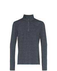 Jersey de cuello alto con cremallera en gris oscuro de 2XU