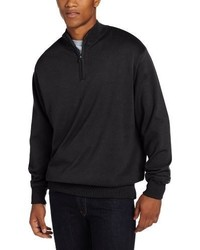 Jersey de cuello alto con cremallera negro de Cutter & Buck