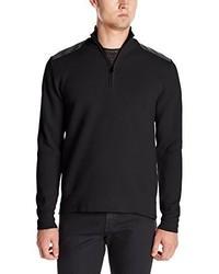 Jersey de cuello alto con cremallera negro de Victorinox
