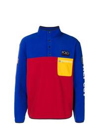 Jersey de cuello alto de botones en multicolor de Polo Ralph Lauren