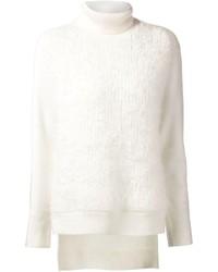 Jersey de cuello alto de lana blanco de 3.1 Phillip Lim