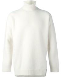 Jersey de cuello alto de lana blanco de Ports 1961
