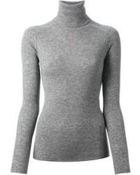 Jersey de cuello alto de lana gris de Vanessa Bruno
