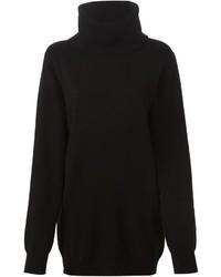 Jersey de cuello alto de lana negro de Dolce & Gabbana