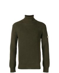 Jersey de cuello alto de punto verde oliva de Vivienne Westwood