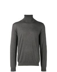 Jersey de cuello alto en gris oscuro de Laneus