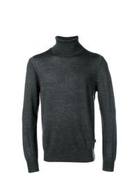 Jersey de cuello alto en gris oscuro de MICHAEL Michael Kors