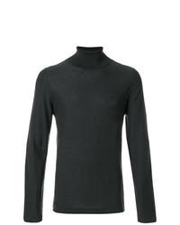 Jersey de cuello alto en gris oscuro de Weber + Weber