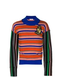 Jersey de cuello alto en multicolor de JW Anderson