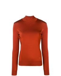 Jersey de cuello alto en tabaco de Givenchy