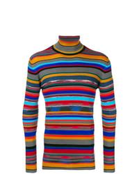 Jersey de cuello alto estampado en multicolor de Missoni