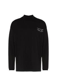 Jersey de cuello alto estampado en negro y blanco de Martine Rose