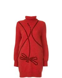 Jersey de cuello alto estampado rojo de Onefifteen