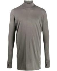 Jersey de cuello alto gris de 11 By Boris Bidjan Saberi