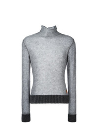 Jersey de cuello alto gris de Al Duca D'Aosta 1902