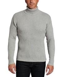 Jersey de cuello alto gris de Alex Stevens