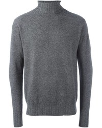 Jersey de cuello alto gris de Aspesi